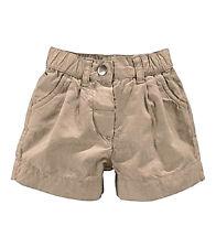Baby Shorts Hose von KLITZEKLEIN aus Baumwolle,Onhe Muster - beige