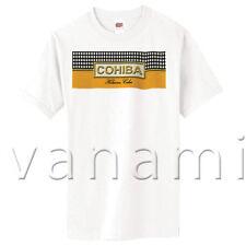 New COHIBA Habana Cuban CIGAR Havana Cuba SS T-Shirt 100% Cotton MADE IN USA