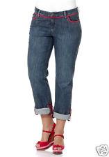 Y.L.Y.F. Jeans Hose Turn-up Gr. 44 46 dark Denim Damen NEU (110)