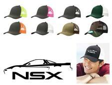 1990-02 Acura NSX Sports Car Color Outline Design Trucker Hat Cap
