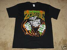 White Zombie Monster Lugosi S, M, L, XL, 2XL Black T-Shirt