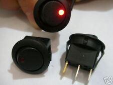 12 volt rocker switch for car, car pc with Red LED UK seller