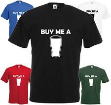 Buy Me A Pint T Shirt Fun Beer Tee Pub Joke Gift Top Lads Xmas Birthday Present