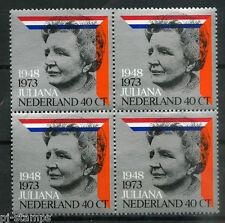 Nederland Regeringsjubileum Juliana 1973 1036 blok v 4 - POSTFRIS