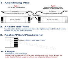 Cavo PIATTO CAVO FLEX// FFC ZIF FLAT FLEX Jumper Cable-diverse dimensioni...