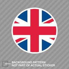 Round Union Jack Sticker Decal Vinyl UK british united kingdom england flag