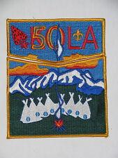 Lodge 464 Kola  S36 + X4 50th ANN Set Pocket Flap Patch  OA  BSA