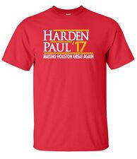 "Chris Paul James Harden Houston Rockets ""Harden Paul 17"" T-shirt Shirt"