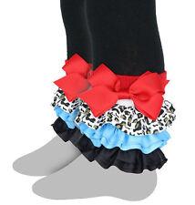 Celegrity - Girls Footless Tight, Leggings Interchangeable Ruffles Fierce Fun