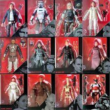 Star Wars AOTC ANH TESB REBELS ROTJ TFA TLJ The Black Series 6 Inch Figures 2019