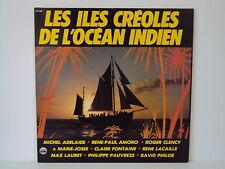 """LES ILES CREOLES DE L'OCEAN INDIEN 12"""" LP YVES LUNDY PLAYA SOUND (L4959)"""
