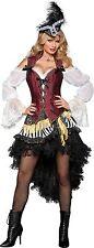 Sexy Adult Halloween InCharacter Women's High Seas Treasure Pirate Costume