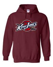 """Lebron James Cleveland Cavaliers """"King James"""" Hoodie HOODED SWEATSHIRT"""