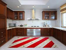 3D Plancher Bois Rouge 307 Décor Mural Murale De Mur De Cuisine AJ WALLPAPER FR