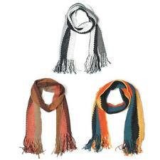 style vintage à rayures rayé en laine écharpe 3 couleurs neuf avec étiquettes