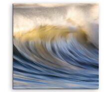 Naturfotografie – Wilde Meereswellen auf Leinwand