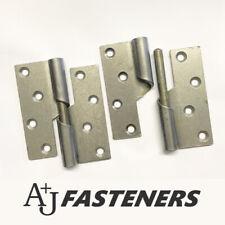 Door Hinges 2x Tee Hinges,Shed Door Gate Latches 4-6-8-10-12Black you pick !! DIY Materials