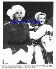 BING CROSBY, VERA ELLEN Terrific Movie Photo WHITE CHRISTMAS