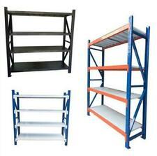 New 800KGS!! Garage Warehouse Steel Storage Shelving Shelves Racking Racks