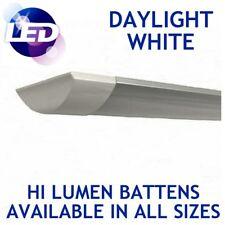 LED Batten Tube Daylight Cool White Linear Ceiling Light Slim Surface Mount Lamp