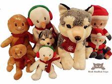 Keel Toys Christmas Collection Santa Gingerbread Man Husky Snowman 25cm 15cm