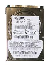 """40gb 2.5"""" ide laptop hard drive mk4032gax hdd2d10 a zl01 s"""