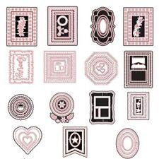 Frame Border Metal Cutting Dies Scrapbooking Paper Cards Crafts Decor Handmade