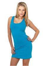 Ladies Sleeveless Dress Urban Classics Streetwear Vestito Gonna Donna