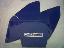 KAWASAKI KXF250 06-08 prédécoupé Plaque D'immatriculation Milieux Bleu PAS CHER