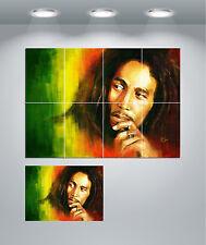 Bob Marley Giant Wall art POSTER print