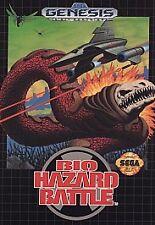 Bio-Hazard Battle (Sega Genesis, 1992) -Complete