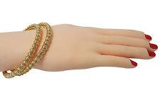 Ethnic Pearl Bangle Kangan Chudi Handchain Bracelet 2.4 / 2.6 / 2.8 Ø (PB-69944)