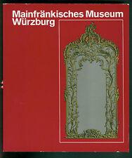 Mainfränkisches Museum Würzburg Aus den Schätzen Kunstwerke Funde Fotos 1976