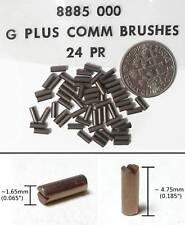 24pr Aurora AFX G+ G-PLUS Original Equipment Carbon Brushes 8885 Also fit TYCO +