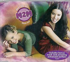 MAXI CD 3 TITRES--M2M--DON'T SAY YOU LOVE ME--1999