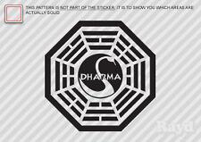 Lost Dharma Initiative Sticker Decal Die Cut vinyl