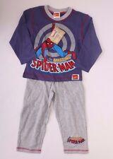 Marvel Spider-Man Pajama Sleepwear 2-Piece Set  Sizes 2,3 NWT