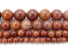 Natural African Blood Jasper Gemstone Round Beads 15.5'' 4mm 6mm 8mm 10mm