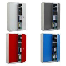 Aktenschrank Valberg T331, Metallschrank Büroschrank, 2 Türen 140x92x37cm