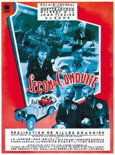 Leçon de conduite Gilles Grangier French movie poster