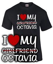 I LOVE MY girlfriend OCTAVIA Tuning Zubehör vrs rs skoda SATIRE FUN T-SHIRT