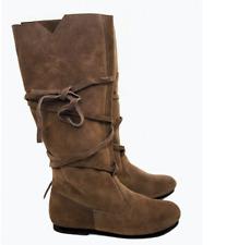 Mittelalterstiefel Räuber 2.0 Braun Mittelalter Schuhe