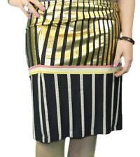 CUSTO BARCELONA Women's Nai Sun Fx Striped Pencil Skirt 293561 $120 NWT