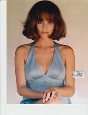 >< Jacqueline Bisset busty COLOR Photo