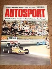 Autosport 11/3/71* S AFRICAN GP -BMW 2800CS-SPORTS CARS