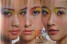 "HOTCHA ""OUR FAVORITES"" HONG KONG PROMO POSTER - MANDO POP & CANTOPOP HK MUSIC"