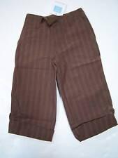 NWT Janie & Jack World Traveler Stripe Roll-up Pants 3T