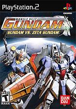 Gundam vs. Zeta Gundam - PlayStation 2 by Bandai