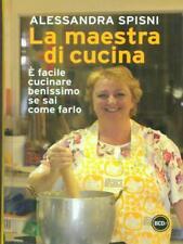 LA MAESTRA DI CUCINA  ALESSANDRA SPISNI BCDE 2012 SUPER TASCABILI