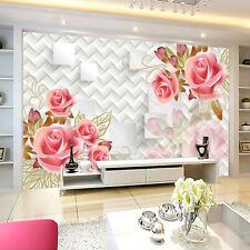 3D Chinoise Jasmin.Photo Papier Peint en Autocollant Murale Plafond Chambre Art